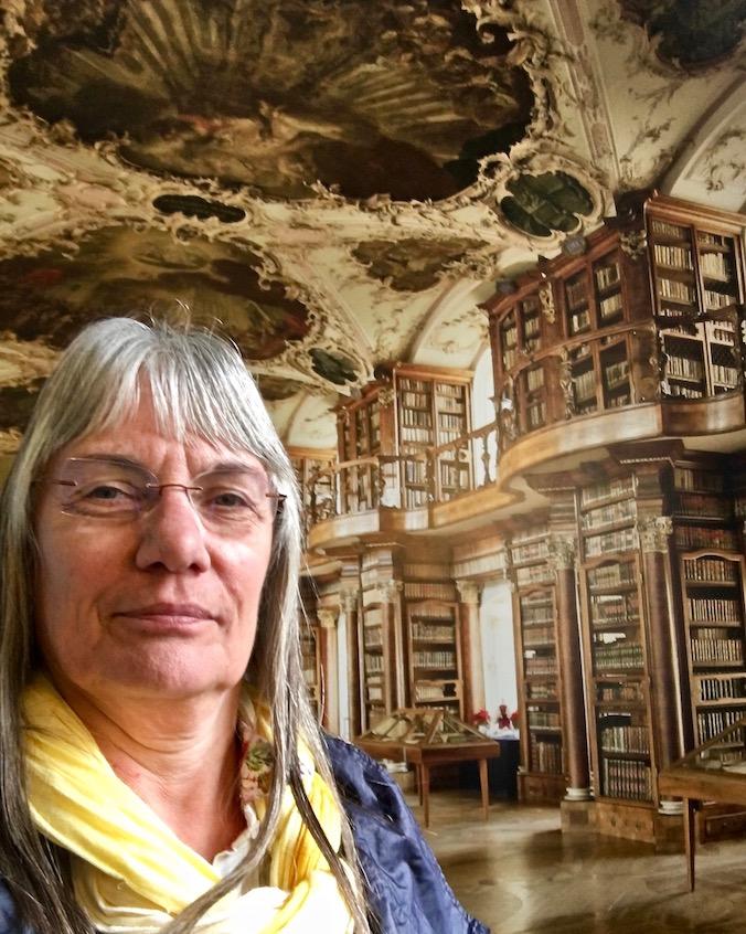 in der Stiftsbibliothek St.Gallen Schweiz Weltkulturerbe