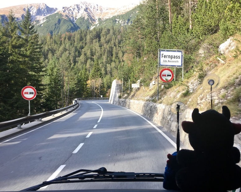 über den Fernpass Österreich