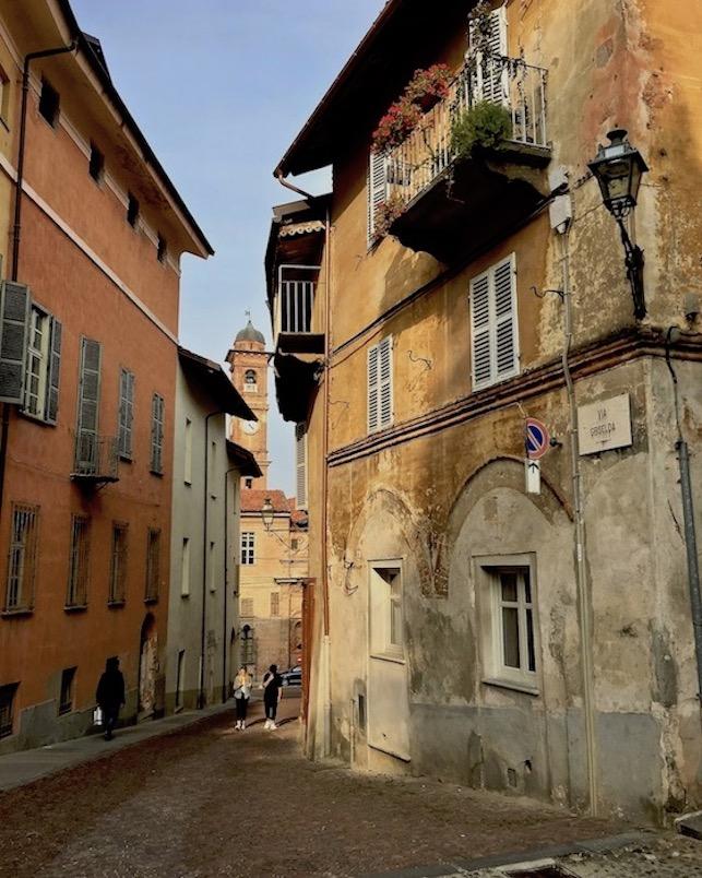 Alte Oberstadt Saluzzo Piemont Italien