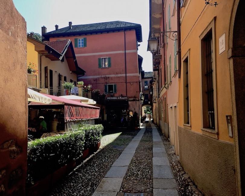 Orta San Giulio am Ortasee Piemont Italien Altstadt von Orta San Giulio Ortasee Italien
