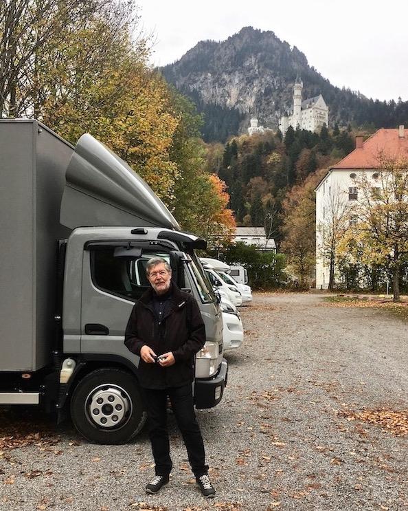 Ankunft in Schwangau mit mole-on-tour Deutschland