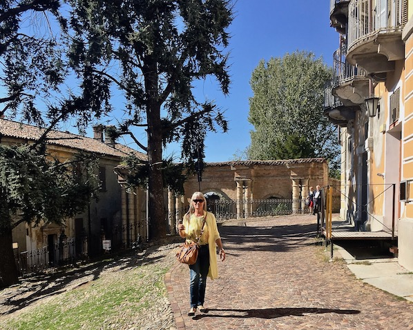 Auf dem Weg zum Palazzo dei Conti di Castelborgo