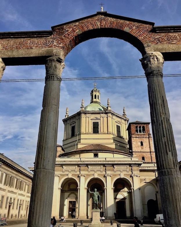 Basilica di San Lorenzo di Milano Mailand Italien