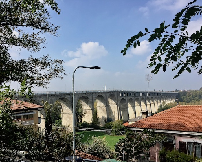 Brücke Ponte Viadotto Soleri Cuneo Italien