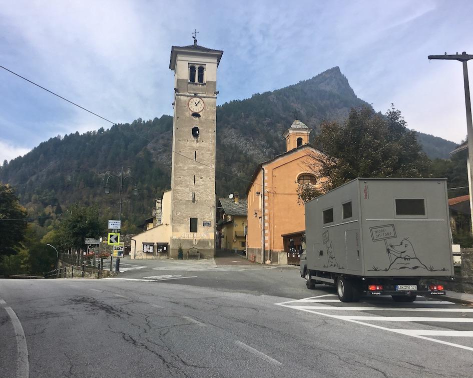 Casteldelfino Valle Vareita Piemont Italien