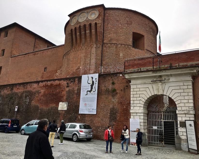 Castiglia Castello di Saluzzo Piemont Italien
