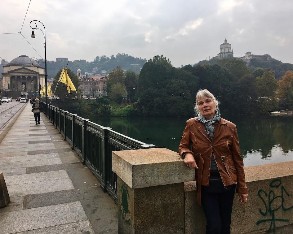 Der Ponte Vittorio Emanuele I über den Po Turin Italien