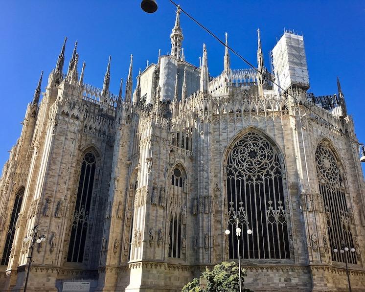 Duomo di Milano Mailänder-Dom Mailand Italien Chor von außen