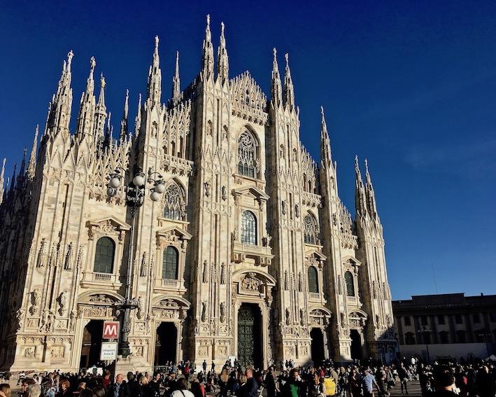 Duomo di Milano Mailänder-Dom Mailand Italien Fassade