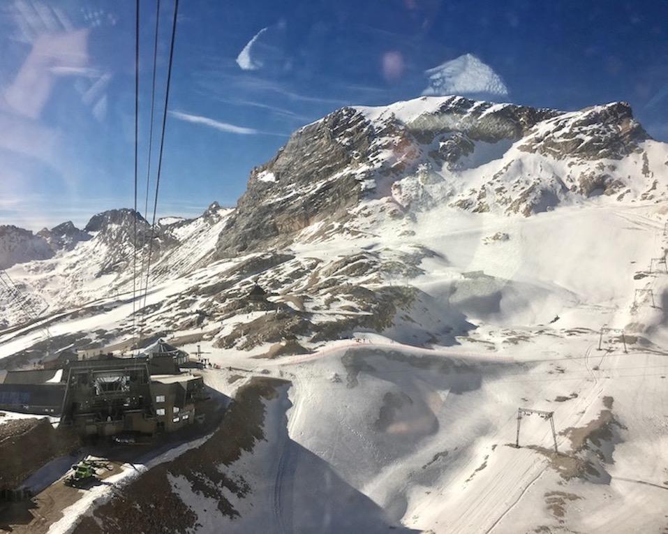 Gletscherbahn zur Zugspitze Deutschland