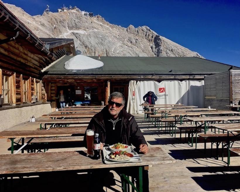 Gletscherrestaurant Sonnalpin Zugsitzplatt Deutschland