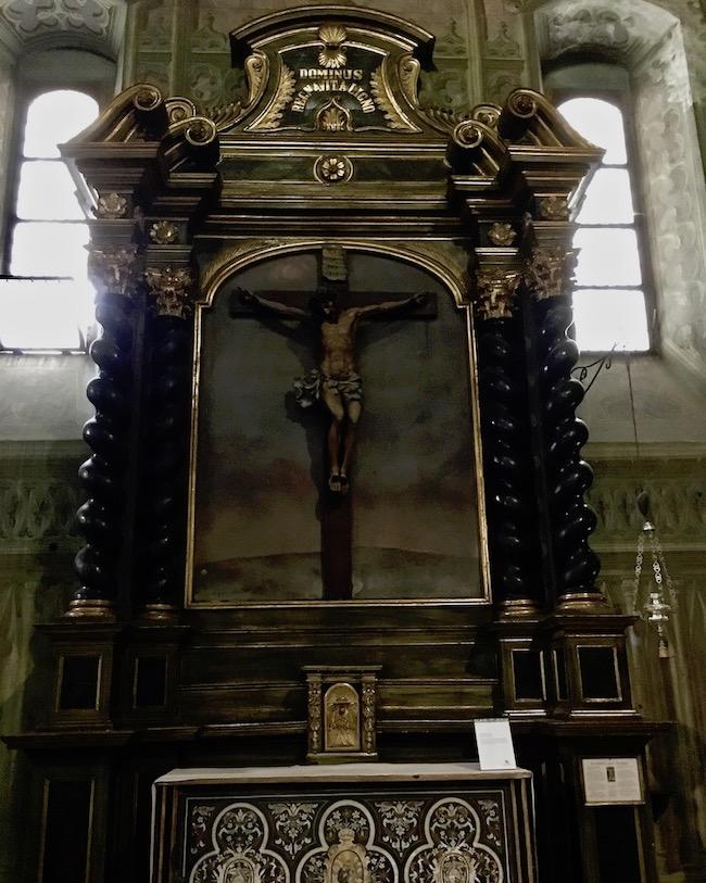 Kathedrale di Santa Maria Assunta Seitenaltar Saluzzo Piemont Italien