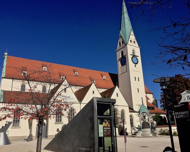 Kempten im Allgäu St.Mang Kirche Deutschland