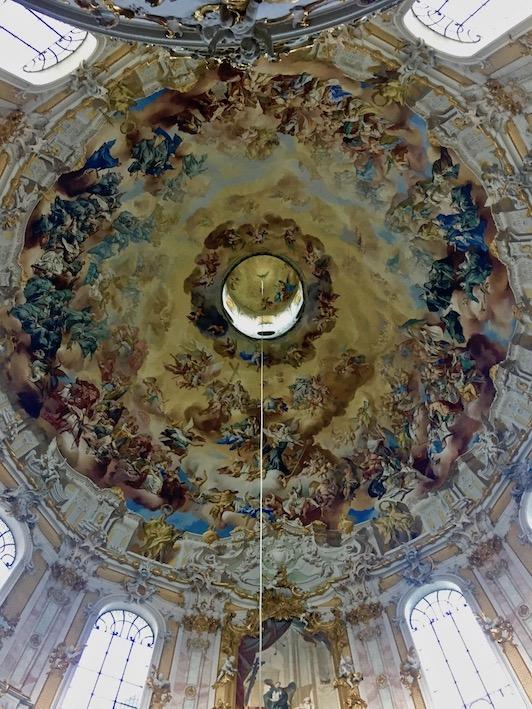 Kloster Ettal Hauptkuppel Deutschland