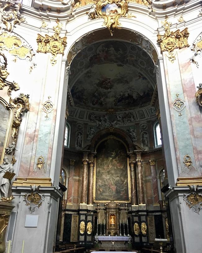 Kloster Ettal Hochaltar Deutschland