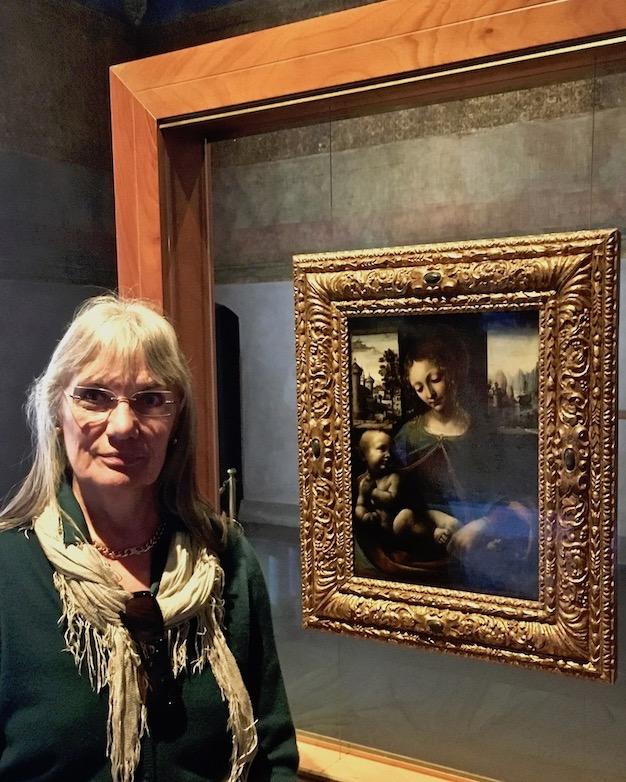 Madonna Lia col Bambino aus Schule Leonardo da Vinci Castello Sforzesco Mailand Italien