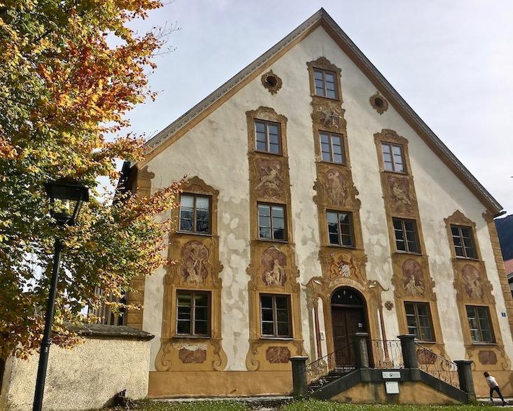 Oberammergau Forstamt Deutschland