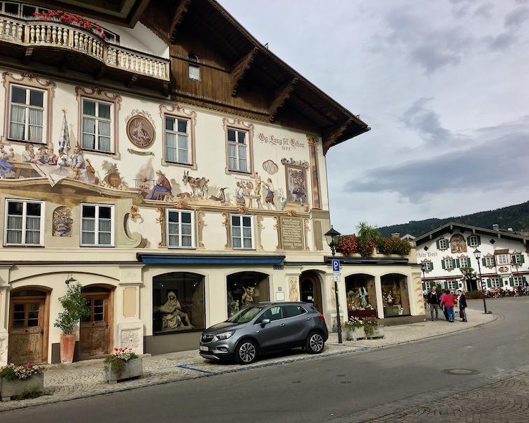 Oberammergau Ludwig Thoma Geburtshaus Deutschland
