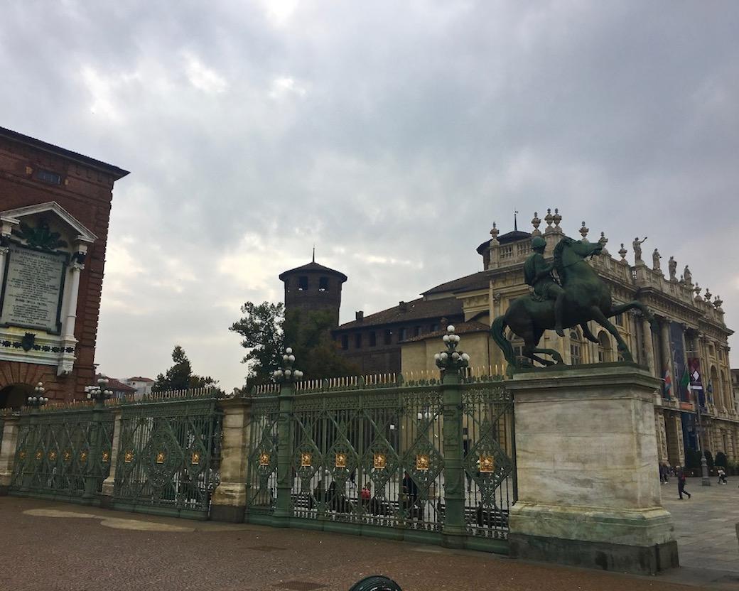 Palazzo Madama Seitenansicht Turin Italien
