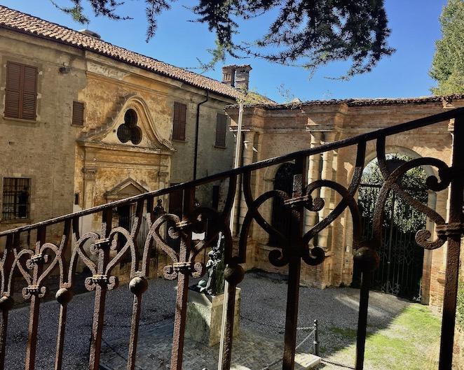 Palazzo dei Conti di Castelborgo Neive Italien