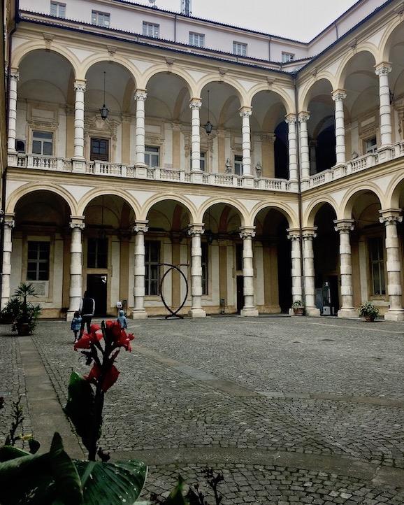 Palazzo del Rettorato Universitätspalast Turin Italien