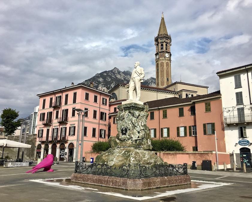 Piazza Mario Cermenati Lecco Comer-See Italien