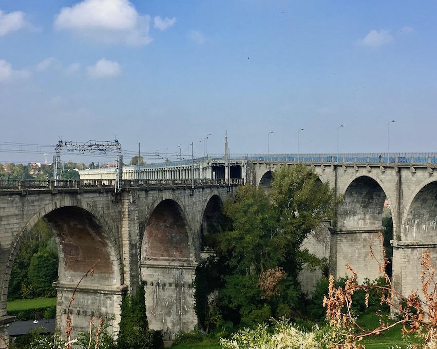 Ponte Viadotto Soleri Brücke Cuneo Italien