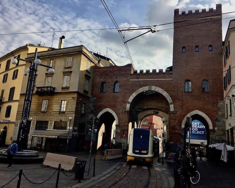 Porta Ticinese Mailand Italien