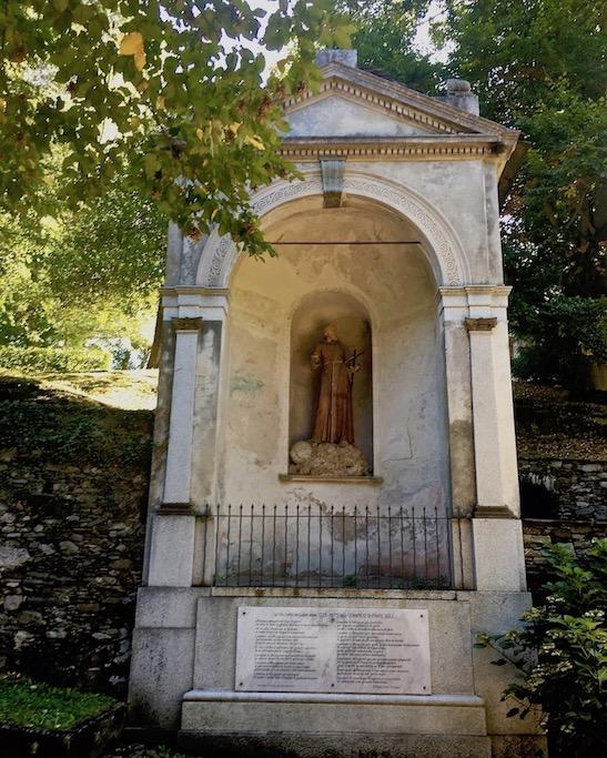 Sacro Monte d Orta Kapelle Orta San Giulio am Ortasee Piemont Italien