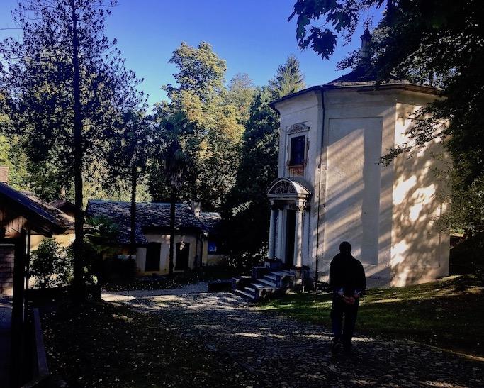 Sacro Monte d Orta Kapelle VIII Orta San Giulio am Ortasee Piemont Italien