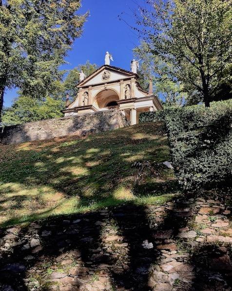 Sacro Monte d Orta Kapelle XI Orta San Giulio am Ortasee Piemont Italien