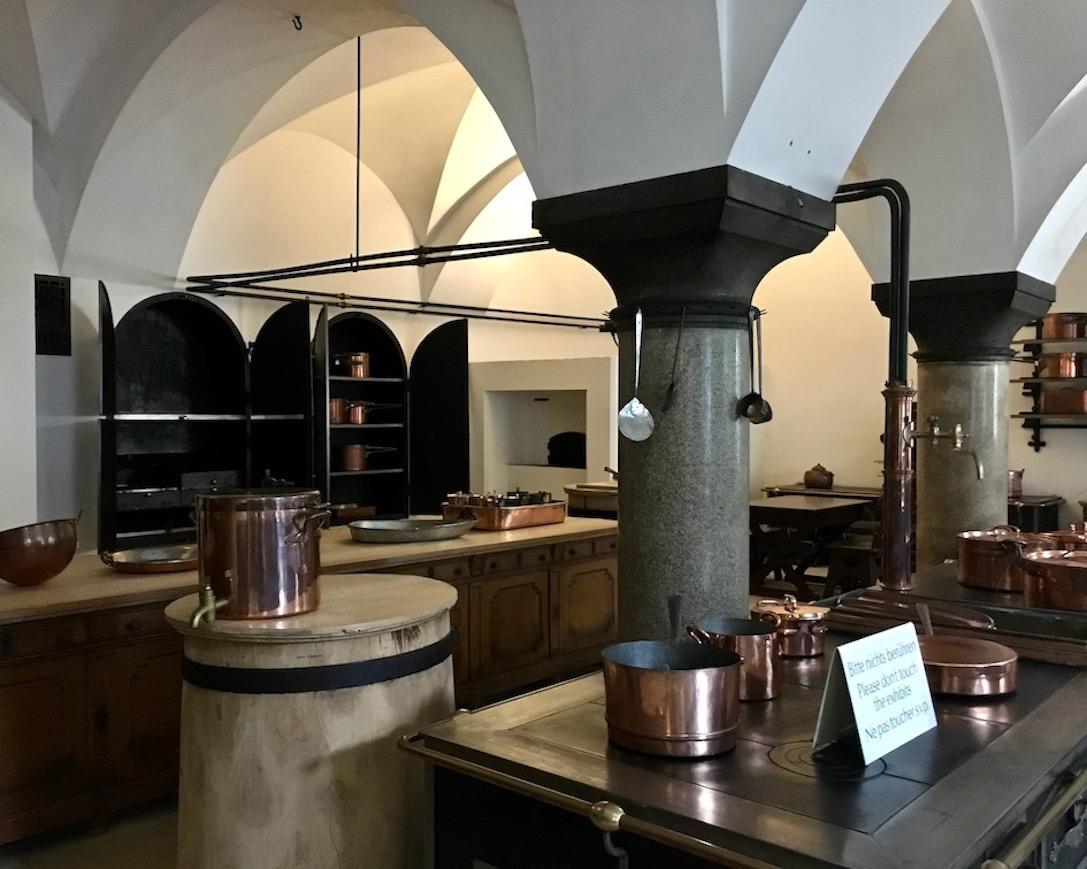 Schloss Neuschwanstein Küche Schwangau Deutschland