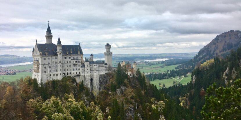 Schloss-Neuschwanstein UNESCO-Weltkulturerbe Schwangau im Allgäu Deutschland