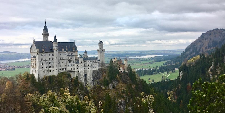 Schloss Neuschwanstein Und Weiter Im Ost Allgau Mole On Tour