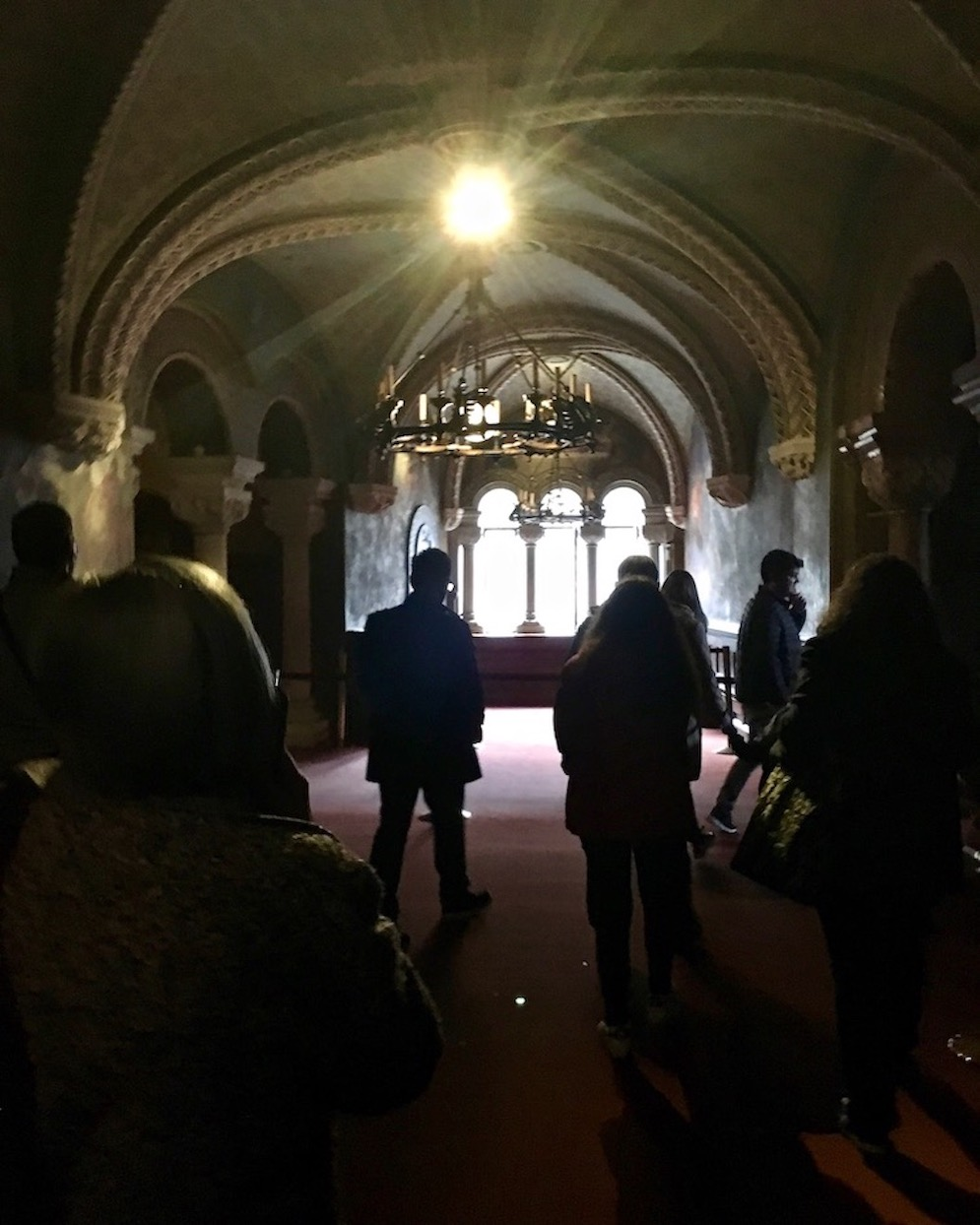Schloss Neuschwanstein durch den Rittersaal mit Audioguide