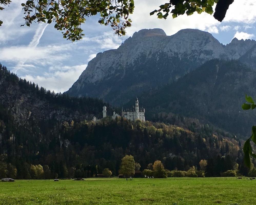 Schloss Neuschwanstein im Allgäu Deutschland