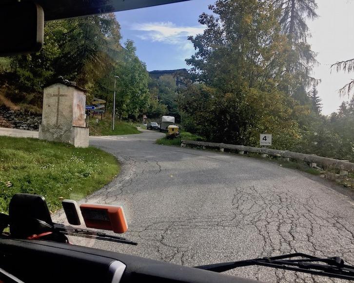 Serpentienen im Valle Vareita Piemont Italien