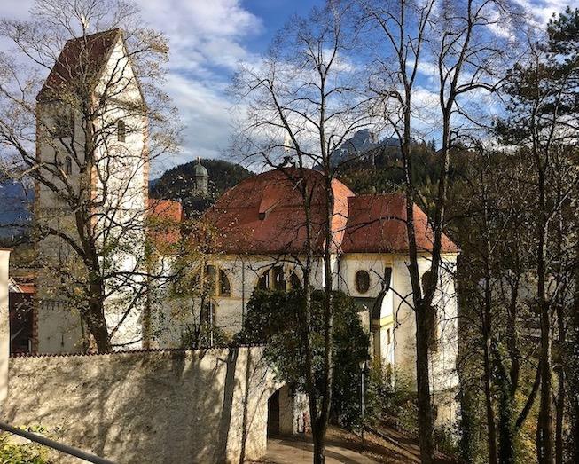 Stadtpfarrkirche St.Mang Füssen Deutschland