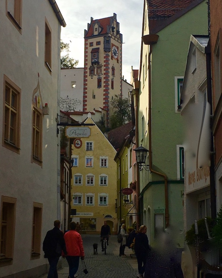 Torturm Hohes Schloss Füssen Deutschlandd