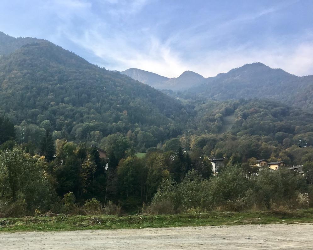 Valle Vareita Piemont Italien