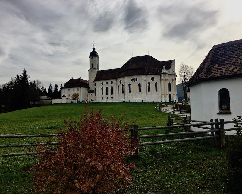 Wieskirche Wallfahrtskirche Weltkulturerbe Steingaden Deutschland