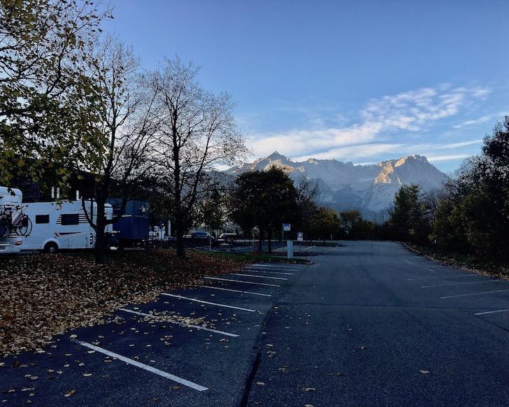 Wohnmobilstellplatz Alpencamp am Wank Garmisch-Partenkirchen Deutschland