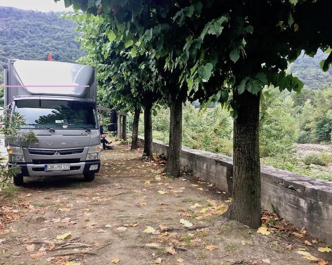 Wohnmobilstellplatz Cannobio Italien für mole-on-tour Cannobio Altstadt am Lago Maggiore Tessin Geheimtip Italien