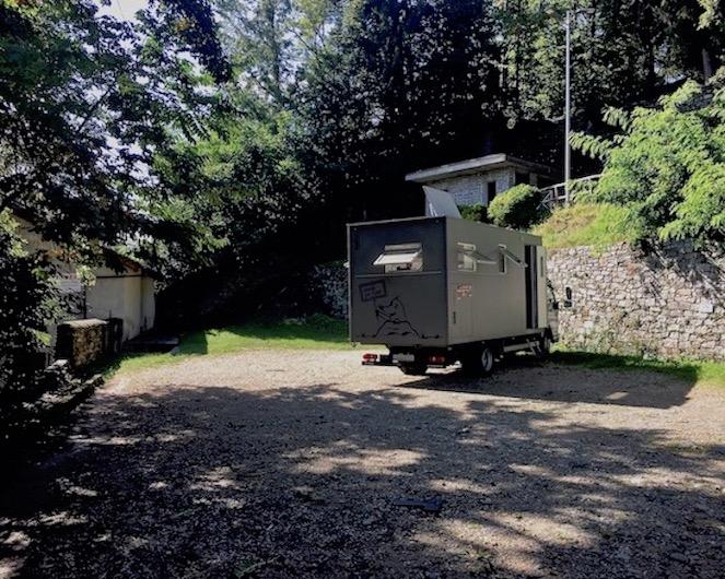 Orta San Giulio Ortasee Italien Wohnmobil-Stellplatz für mole-on-tour