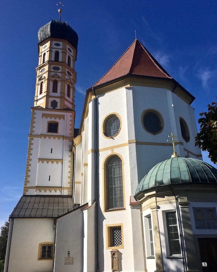 Kirche St.Martin Marktoberdorf Deutschland