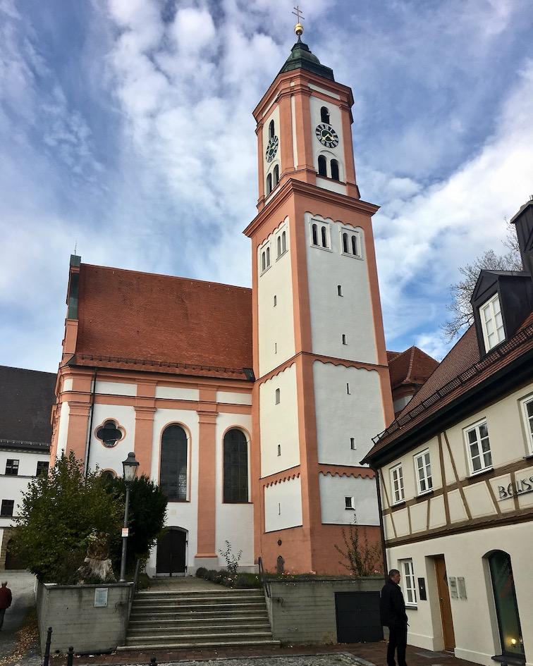 Kirche St.Michael Krumbach Deutschland
