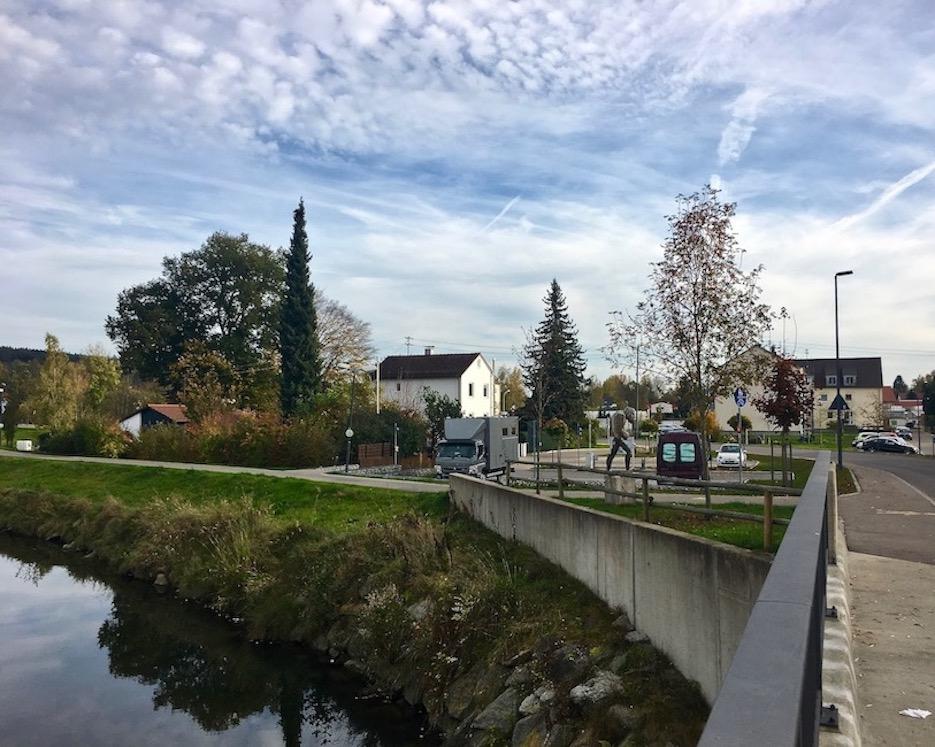 Wohnmobilstellplatz an der Kammel Krumbach für mole-on-tour Deutschland