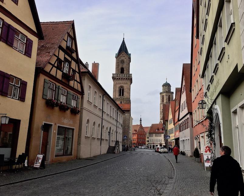 Altstadt Dinkelsbühl Deutschland