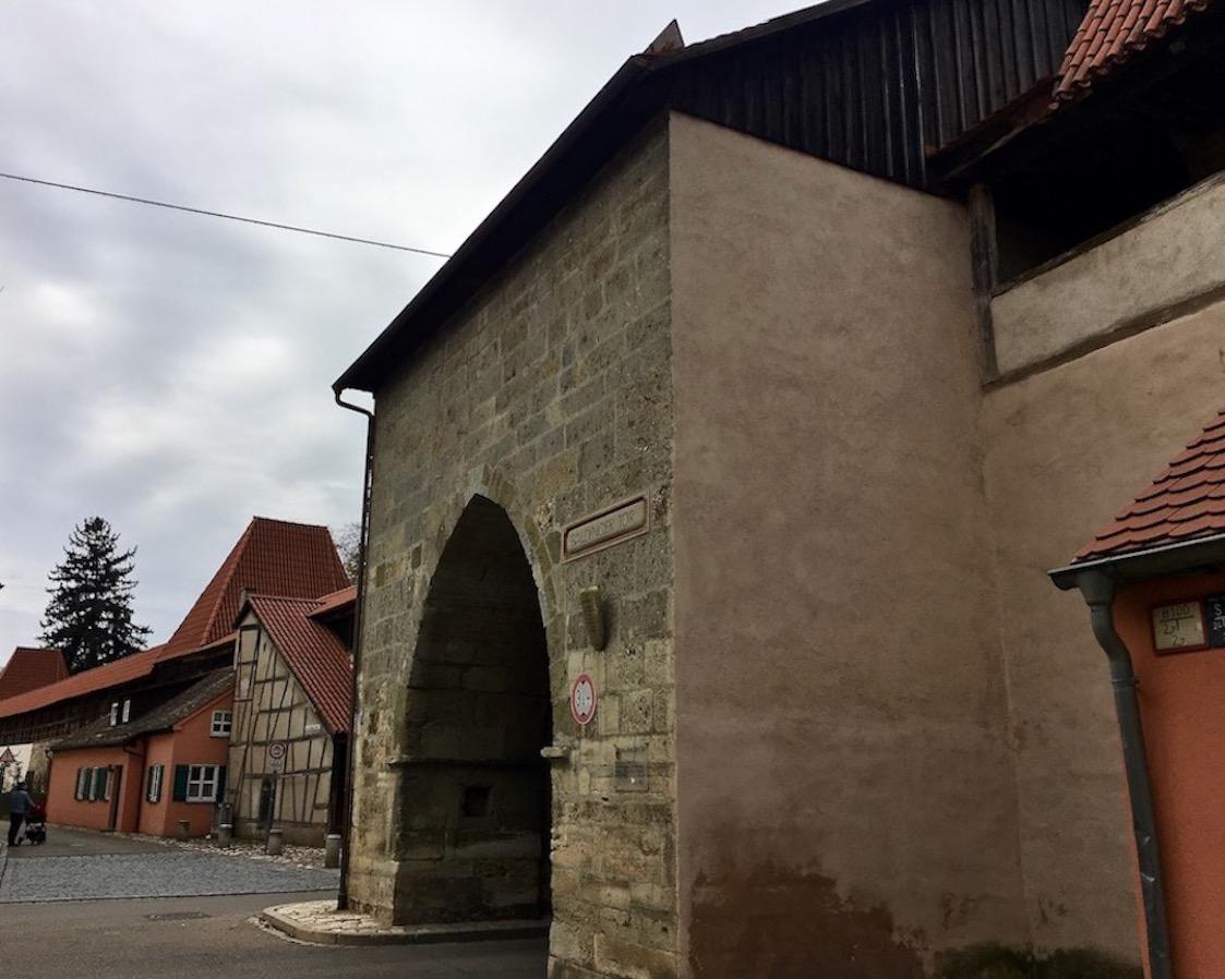 Baldinger-Tor in Nördlingen Deutschland