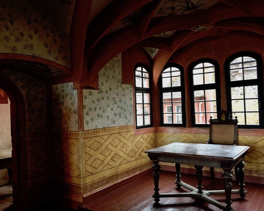 Burg Ronneburg Unteres Herrengemach